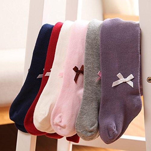 Calcetines de Calcetines Calentadores calientes a ni Cute para Ahatech piernas Medias Rosa Winter qxwfAZZ4X