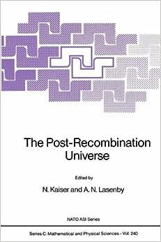 Como Descargar En Elitetorrent The Post-recombination Universe Archivo PDF