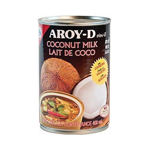 Aroy-D – Kokosmelk om te koken – Geef uw gerechten een exotisch tintje – 400 ml
