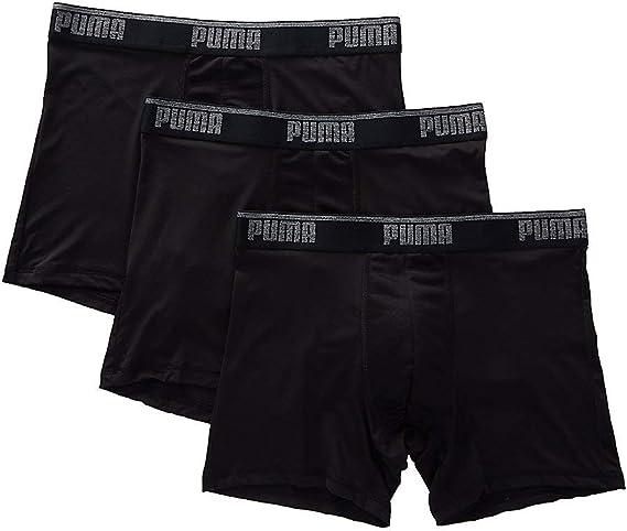 PUMA Cotton Stretch Training Boxer Briefs - 3 Pack (1911504): Amazon.es: Ropa y accesorios