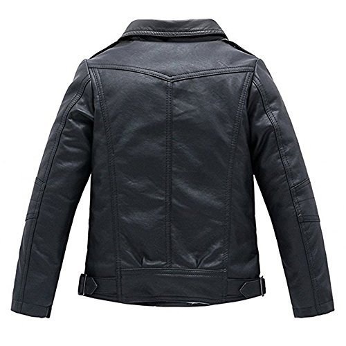 Meeyou-Childrens-Motorcycle-Leather-Jacket-Faux-Leather-Coat-for-Boys-Girls
