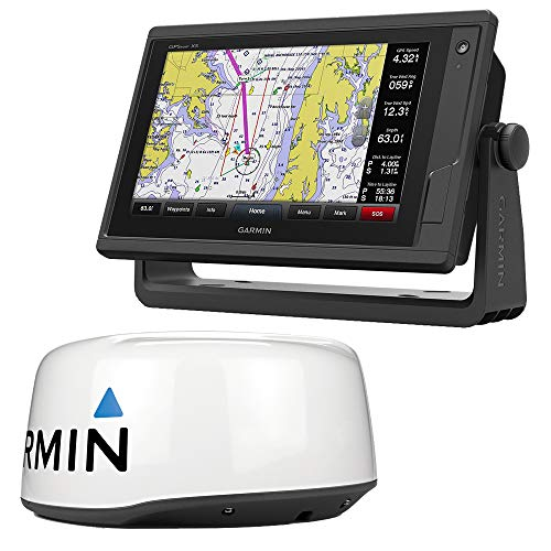 - Garmin Gpsmap 942Xs Touchscreen Chartplotter/Sonar with Gmr18 Hd + Radar