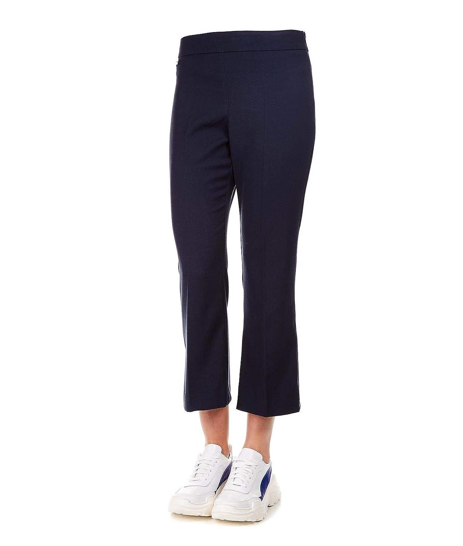 Manila Grace Womens P086PUMD560BLU Blue Polyester Jeans