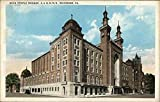 Acca Temple Mosque, A.A.O.N.M.S. Richmond, Virginia Original Vintage Postcard