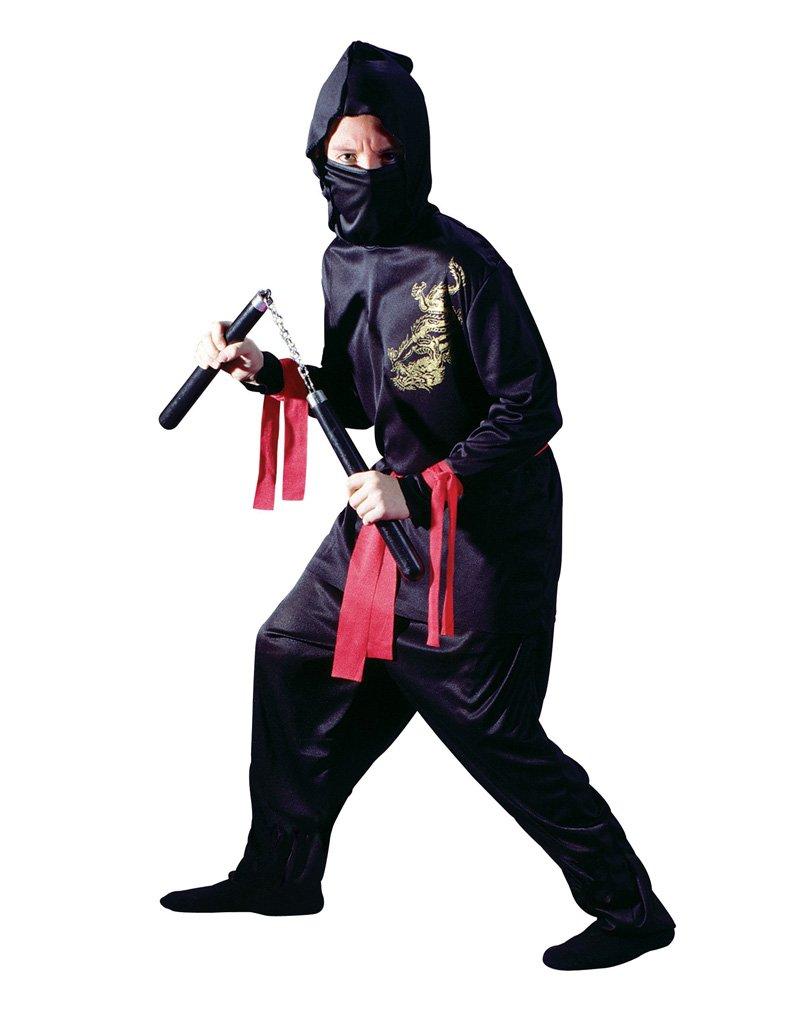 Child Small (4-6) Black Ninja
