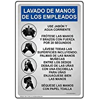 AmyyEden - Cartel de Aluminio español para empleados