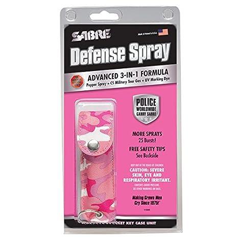 Amazon.com: Sabre 3 en 1 pimienta spray – Fuerza de Policía ...