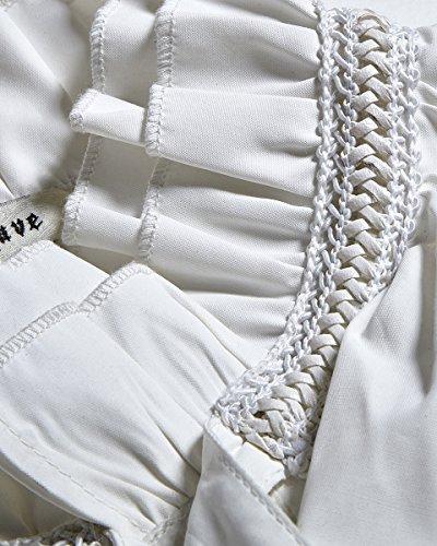 Punk Rave Camicia da Uomo Maglia Bianco Gotico Steampunk Vintage Regency Aristocrat Vittoriano