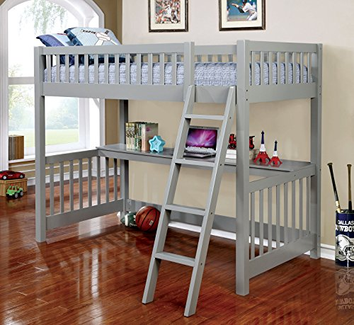 TWIN LOFT BED by EXP IMP