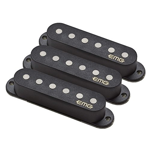 EMG Retro Active Crossroads Guitar Pickup Set, Black