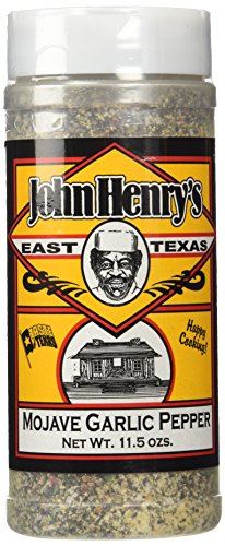 John Henry's Mojave Garlic Pepper Rub, ()