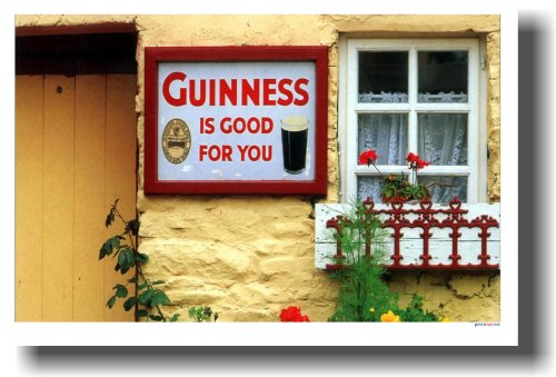 guinness-is-good-for-you-funny-humor-joke-poster