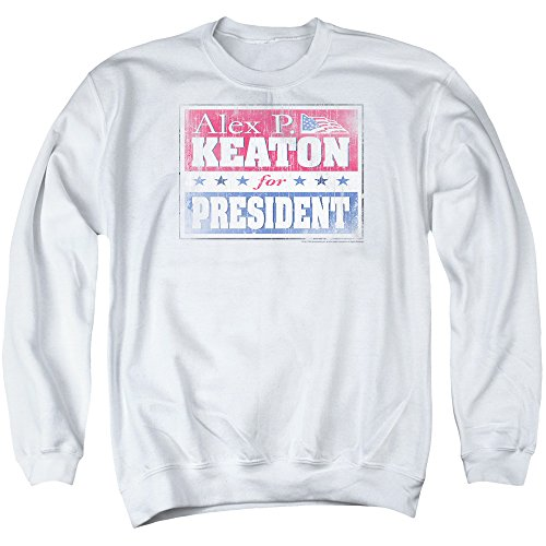 Family Ties - Alex For President Adult Crewneck Sweatshirt
