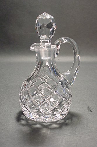 Kusak Cut Glass Works Brookshire Crystal Cruet Pack of 2