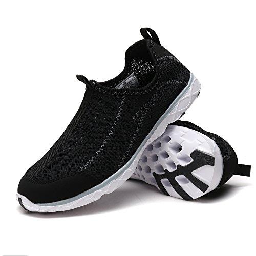 Grey Light Women's 1610042 Water Weight Pairs Sport New Comfort Walking Swim Athletic shoes Easy Sole Black W Dream Slip Casual On qXwxRBFn