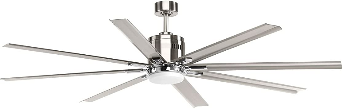 Vast Collection 72 Inch 8 Blade Gray Modern Ceiling Fan Amazon Com