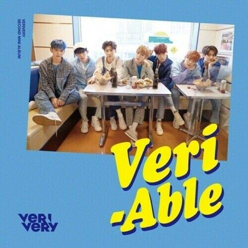 VeriVery - [Veri-Able] 2nd Mini Album Official Ver CD+Booklet+1p Post+1p Clear Photo Card+1p PhotoCard+Tracking K-POP ()