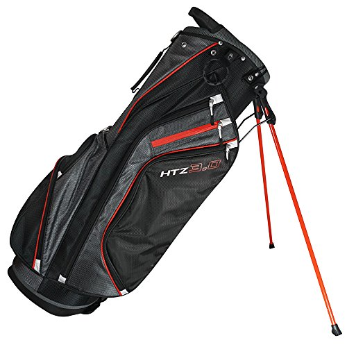Hot-Z 2017 Golf 3.0 Stand Bag, Black/Gray