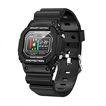 RONSHIN X12 Smart Watch IP68 Waterproof Heart Rate ...