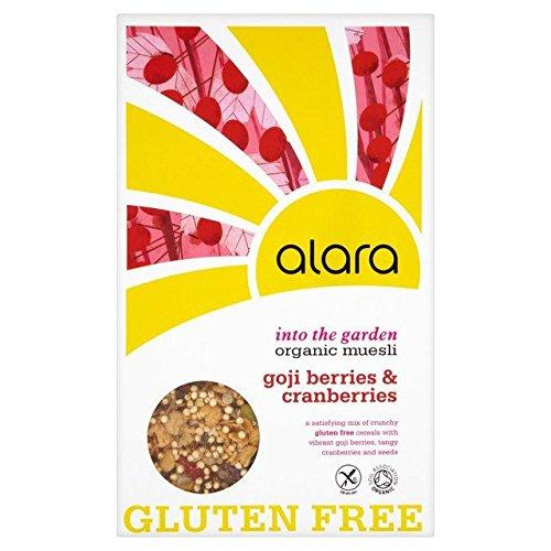 Alara Organic Gluten Free with Goji Berries & Cranberries Organic Muesli - 650g