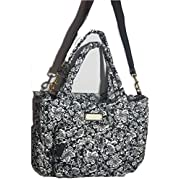 Marc Jacobs Crosby Elizababy Quilted Paisley Baby Bag With Changing Pad, Navy/Multi