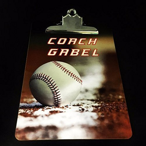Amazon.com: Clipboard, Baseball coach gifts, Custom Coach Baseball ...