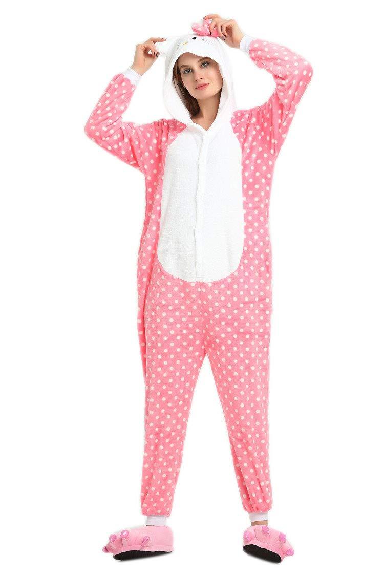 Hello Kitty - Flanell Einteiler-Pyjama