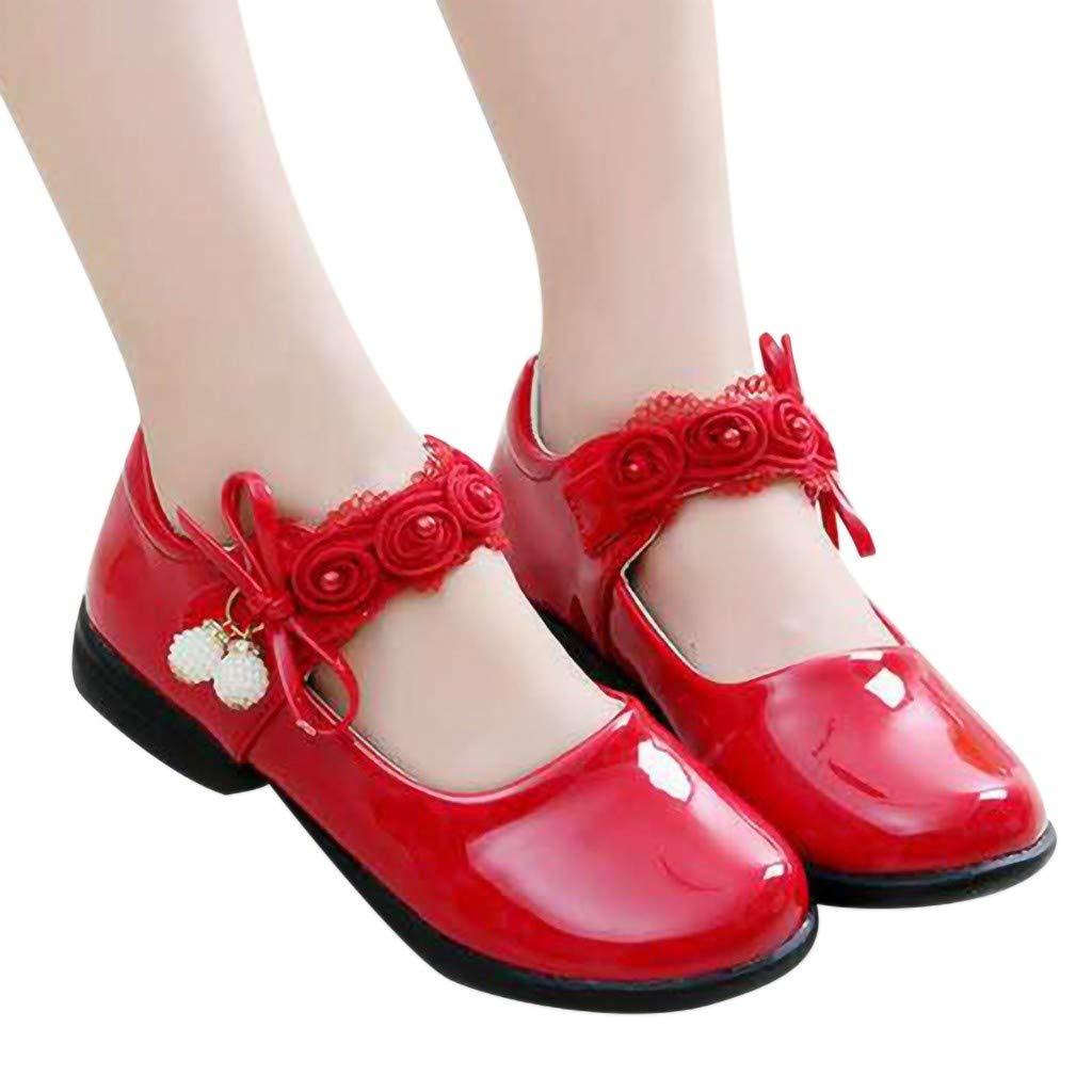 Tonsi Chaussures Fille/Talon Paillettes 2019 Chaussures Fille/Ballerine Bapteme Chaussures Fille/Princesse Enfant Mariage Chaussure Scolaire
