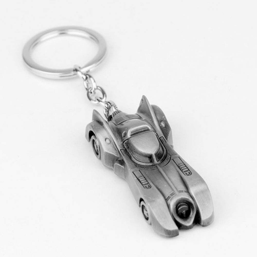 Amazon.com: Regalo de Batmobile Llavero de Coche Bronce ...