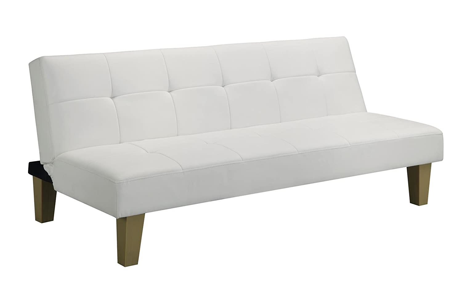 Amazoncom DHP Aria Futon White Kitchen Dining