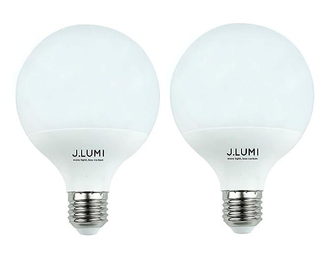 J. lumi 10 W G30 LED bombilla de bajo consumo (esférica, 60 W