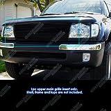 99 tacoma billet grill - APS 1998-2000 Toyota Tacoma Black Billet Grille Grill Insert #S18-H36458T