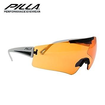 f86555e8b6 Pilla vigilante 45 MX lente naranja gris marco de gafas: Amazon.es: Deportes  y aire libre