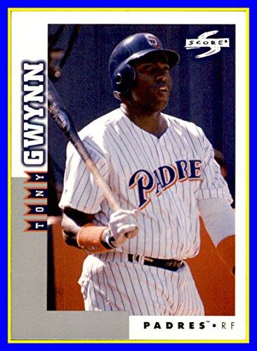 - 1998 Score Rookie Traded #9 Tony Gwynn RIP HOF SAN DIEGO PADRES