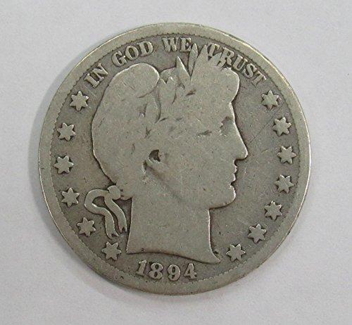 1894 O Barber Half Dollar 50c Good+ ()