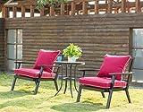 QILLOWAY Outdoor/Indoor Deep Seat Chair Cushions