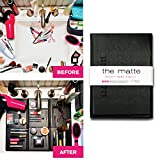 Bathroom Sinks and Counters The Matte Make Up Organizer Space Saver turns Bathroom Sink into a Beauty Counter in an Instant-Essential for anyone who has limited bathroom space and is a must have for travel (Standard, Black)