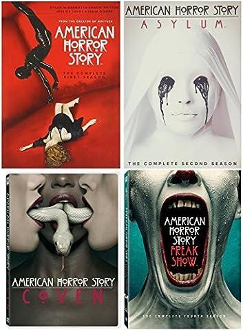 American Horror Story : Seasons 1 - 4 Complete Collection (16-Disc, DVD, 2015) (American Horror Story Box Set)