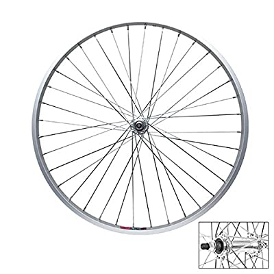 Wheel Master Front Bicycle Wheel 26 x 1.5 36H, Alloy, Bolt on, Silver, 3/8