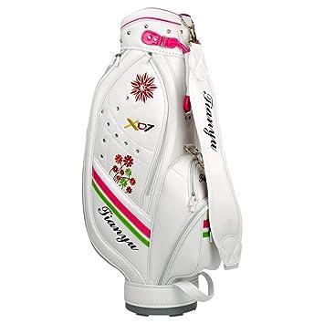 Xycar Bolsa de Golf para Mujeres Bolsa de Palos de Golf PU ...