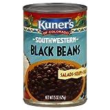 Kuner's Black Beans, 15-ounces (Pack of12)