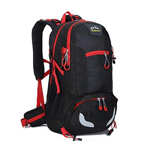 Outdoor Rucksack wandern Tour Package enthält die Schultern, LJ0254 Rot