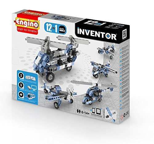 Engino.net Ltd Inventor 12 Models Aircrafts by Engino Toy Systems Ltd