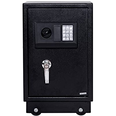 Safstar Large Digital Electronic Keypad Lock Security Safe Box