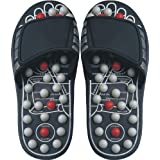 Reflexology Sandals - Fixed Heads - Acupressure Soothes Numbness and Pain in Feet and Legs, Large