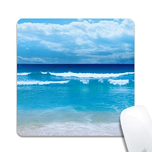 DeJYtrade Mouse Pad, Coast Custom Non-Slip Gaming Square Mouse Pad