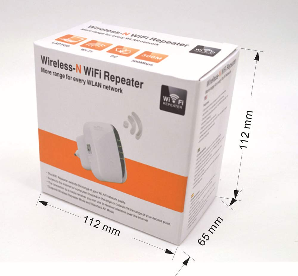 GAOWORD Amplificador De Alcance WiFi/Punto De Acceso/Booster WiFi/Router Inalámbrico Amplificador De Señal Dual Band (2.4Ghz 300M De Lanzamiento + Ap ...