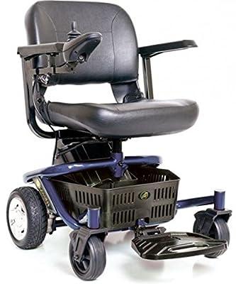 Golden Technologies - LiteRider Envy - Compact Power Chair - Blue