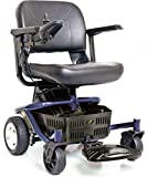 Golden Technologies - LiteRider Envy - Compact Power Chair - Blue
