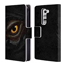 Official Christos Karapanos Werewolf'S Eye Horror 3 Leather Book Wallet Case Cover For LG Nexus 5